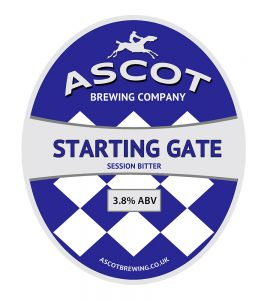 Starting Gate (Session Bitter), <span>ABV 3.8%</span>