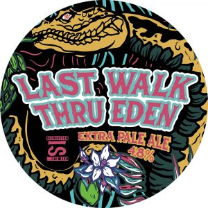 Last Walk Thru Eden (Extra Pale Ale), 440ml, ABV 4.8%