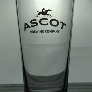 Ascot Brewing Company Pint Glass