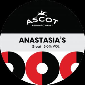 Anastasia's (Stout), 5.0%ABV