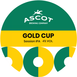Gold Cup (Session IPA), ABV 4.0%