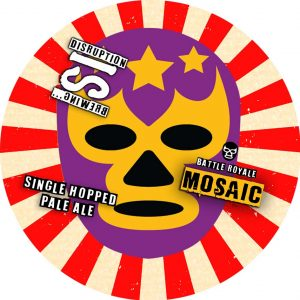Battle Royale: Mosaic (Single Hop Pale Ale), ABV 4.4%