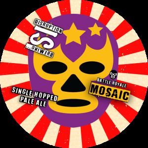 Battle Royale: Mosaic (Single Hop Pale Ale), 440ml ABV 4.4%