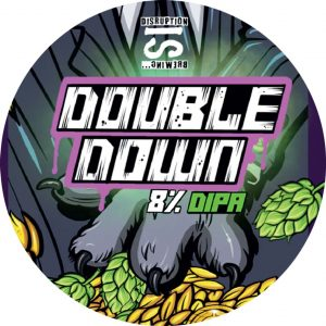 Double Down (DIPA), ABV 8.0%