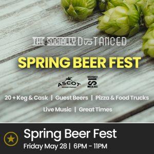 Spring Bank Holiday Beer Festival (Fri 28th May 2021, 6pm – 11pm)