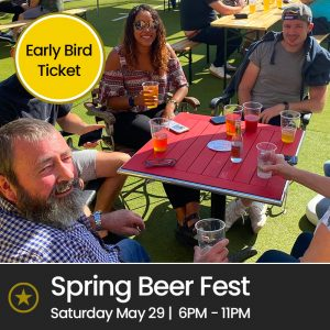 Spring Bank Holiday Beer Festival (Sat 29th May 2021, 6pm – 11pm)
