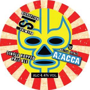 Battle Royale: Azacca (Single Hop Pale Ale), ABV 4.4%