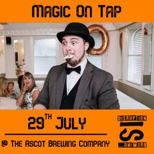 Magic On Tap (Thurs 29th July 2021)