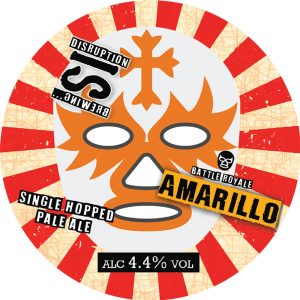 Battle Royale: Amarillo (Single Hop Pale Ale), ABV 4.4%