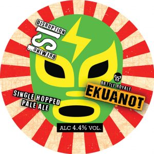 Battle Royale: Ekuanot (Single Hop Pale Ale), ABV 4.4%
