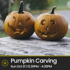 Family Pumpkin Carving (Sunday 31 Oct)
