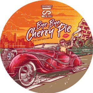 Bye Bye Cherry Pie (Fruit Sour), ABV 6.5%